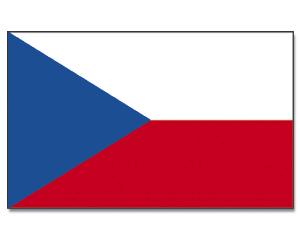 drapeau de la republique tcheque