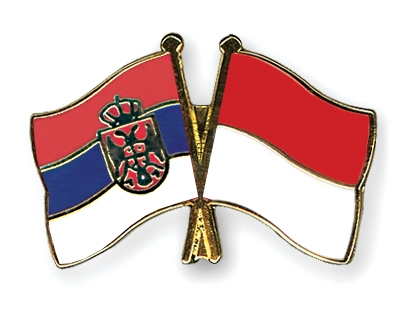 pin 39 s de l 39 amiti drapeaux serbie sans armoiries monaco flags. Black Bedroom Furniture Sets. Home Design Ideas