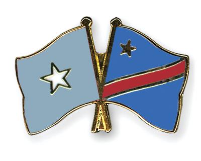 Pin's de l'amitié  Somalie-Republique-democratique-du-Congo